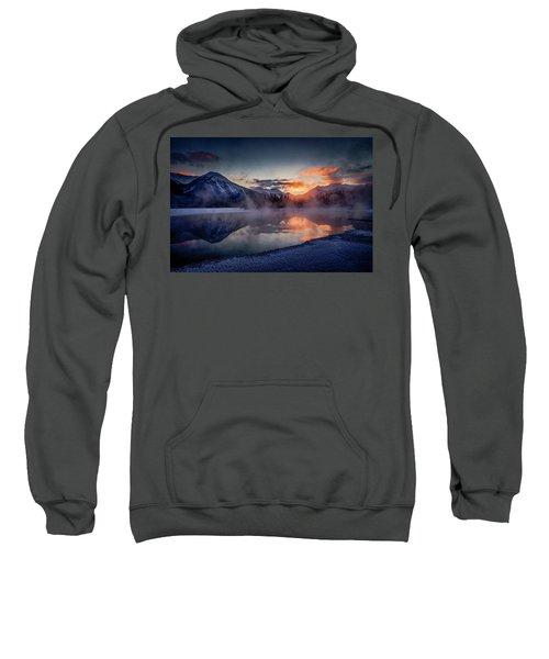 Sunset, Vermilion Lakes Sweatshirt