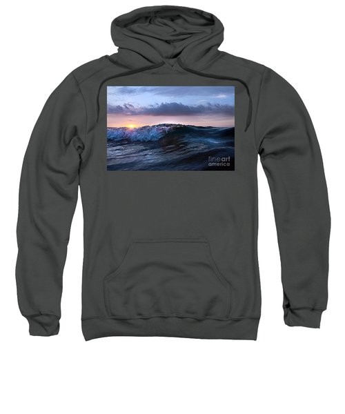 Sunset Wave-wards Beach Sweatshirt