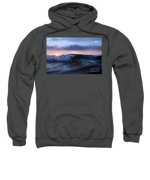 Sunset Wave-wards Beach Sweatshirt