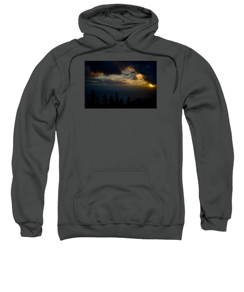 Sweatshirt featuring the photograph Sunset,beauty by Joseph Amaral