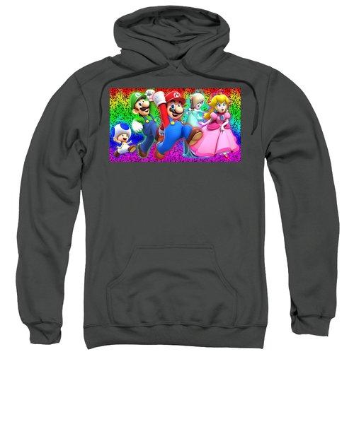 Super Mario 3d World Sweatshirt