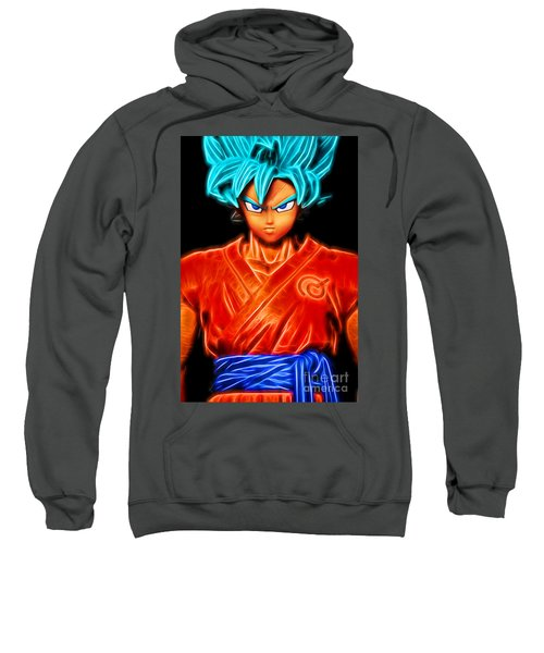 Super Saiyan God Goku Sweatshirt