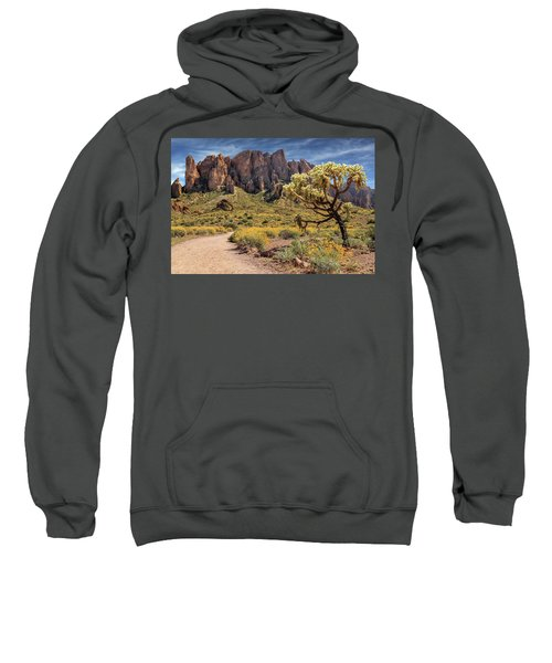 Superstition Mountain Cholla Sweatshirt