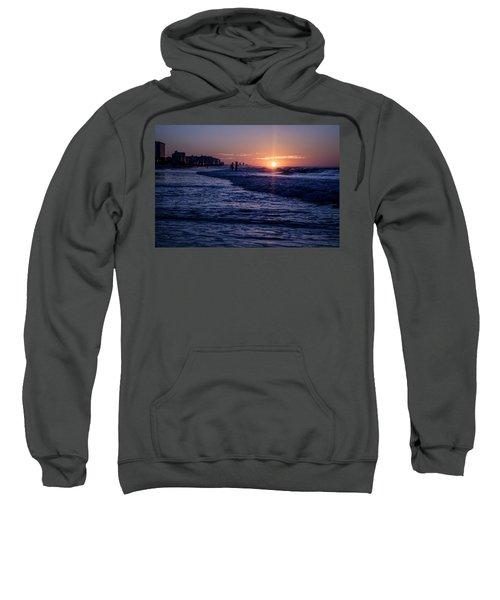 Surf Fishing At Sunrise Sweatshirt