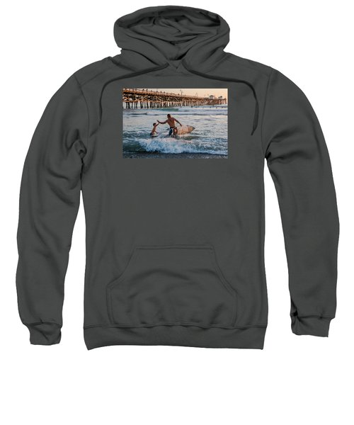 Surfboard Inspirational Sweatshirt