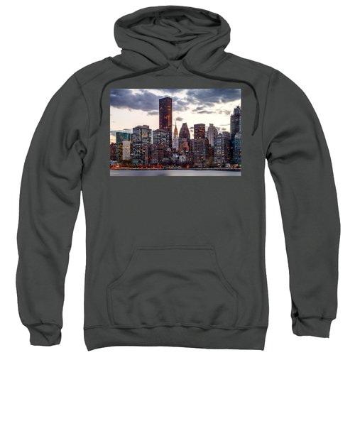 Surrounded By The City Sweatshirt by Az Jackson