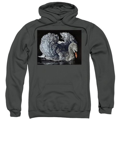 Swan #2 Sweatshirt