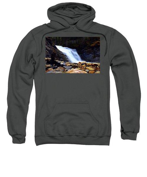 Sweet Creek Falls , Wa Sweatshirt