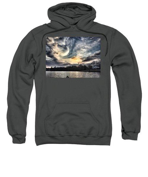 Swirl Sky Sunset Sweatshirt