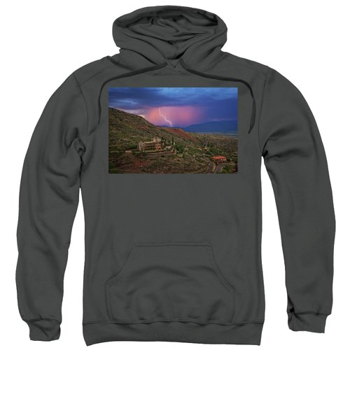 Sycamore Canyon Lightning With Little Daisy Sweatshirt