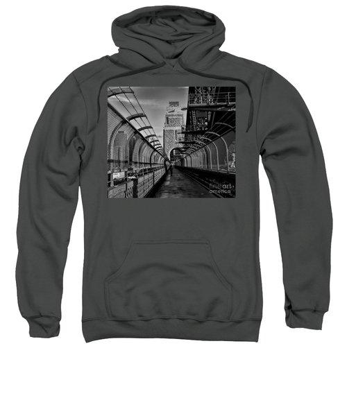 Sydney Harbor Bridge Bw Sweatshirt