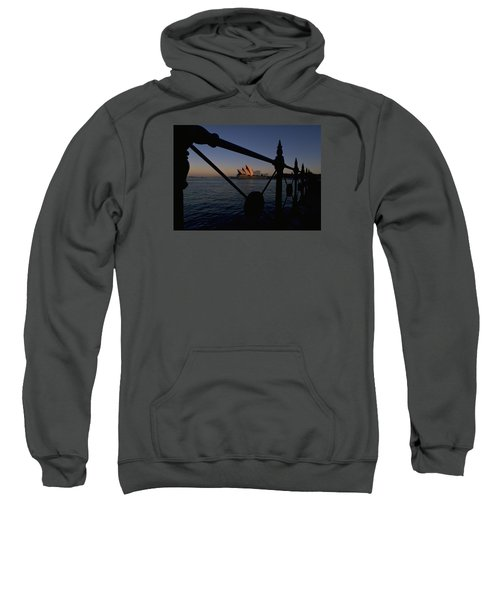 Sweatshirt featuring the photograph Sydney Opera House by Travel Pics