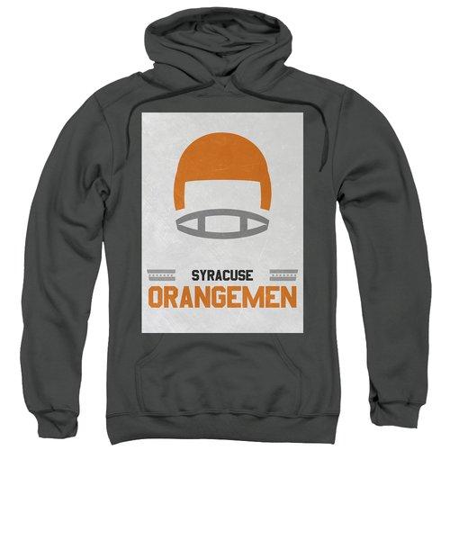 Syracuse Orangemen Vintage Football Art Sweatshirt