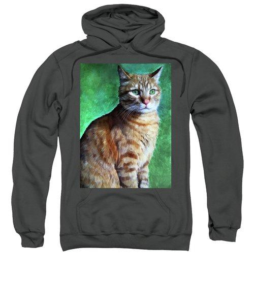 Tabby Cat Sweatshirt
