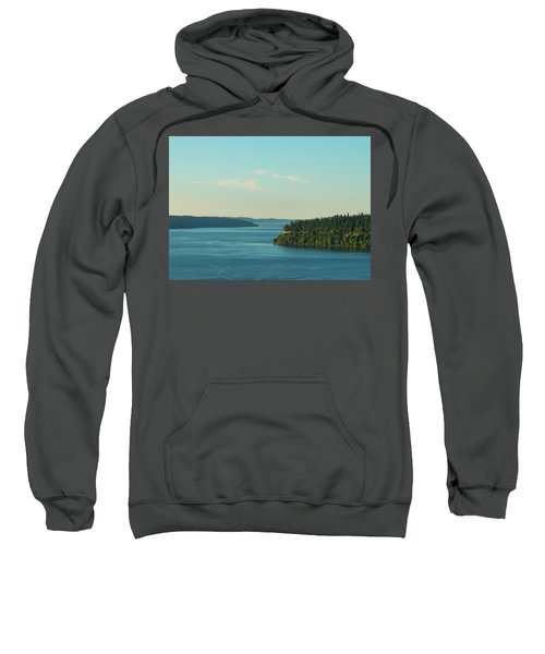 Tacoma Narrows And Commencement Bay II Sweatshirt