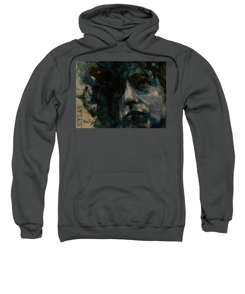 Tagged Up In Blue- Bob Dylan  Sweatshirt