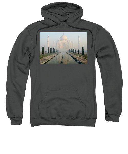 Taj Mahal At Sunrise 02 Sweatshirt