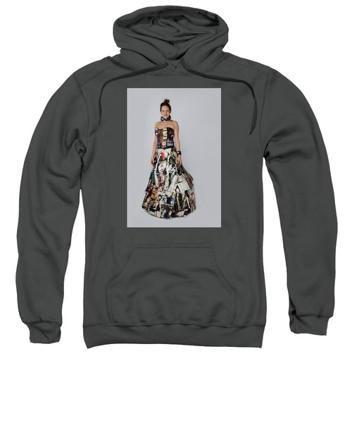 Megan In Gown Sweatshirt