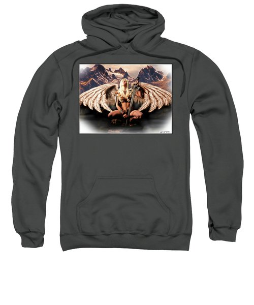 Talon Of The Hawk Woman Sweatshirt