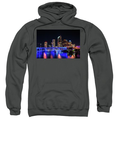 Tampa Skyline Sweatshirt by Steven M