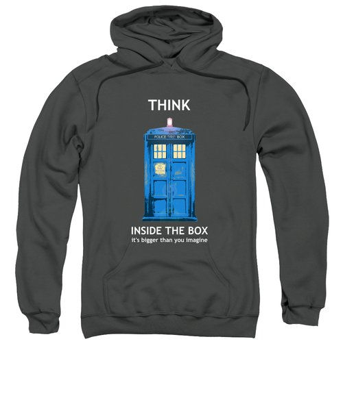 Tardis - Think Inside The Box Sweatshirt