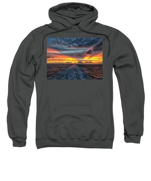 Tasman Sea Sunset Sweatshirt