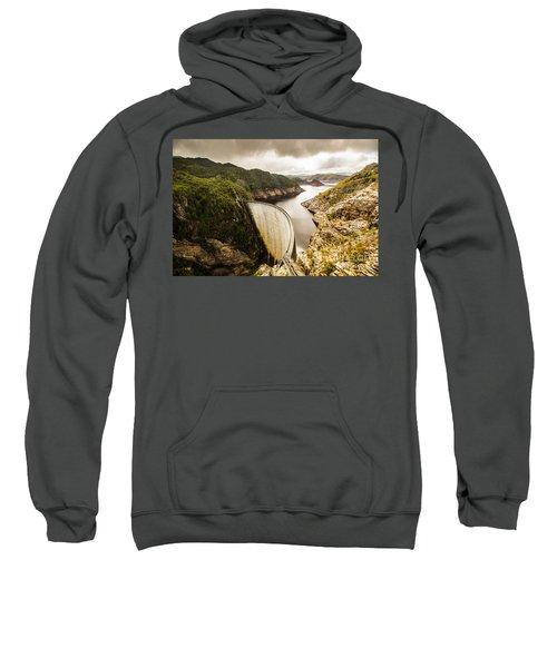 Tasmania Hydropower Dam Sweatshirt