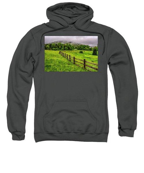 Tea Creek Meadow And Buttercups Sweatshirt