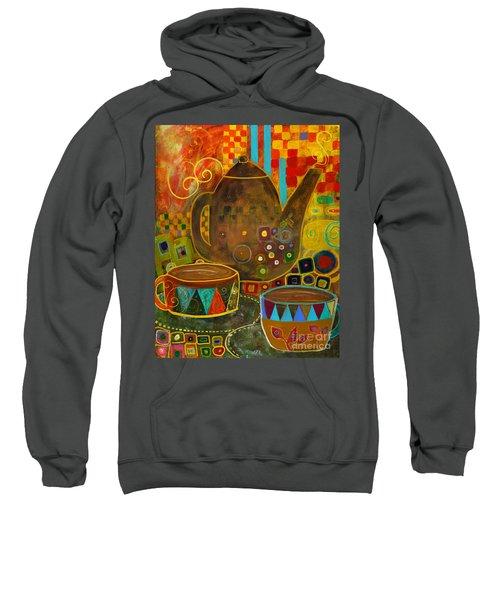 Tea Party With Klimt Sweatshirt