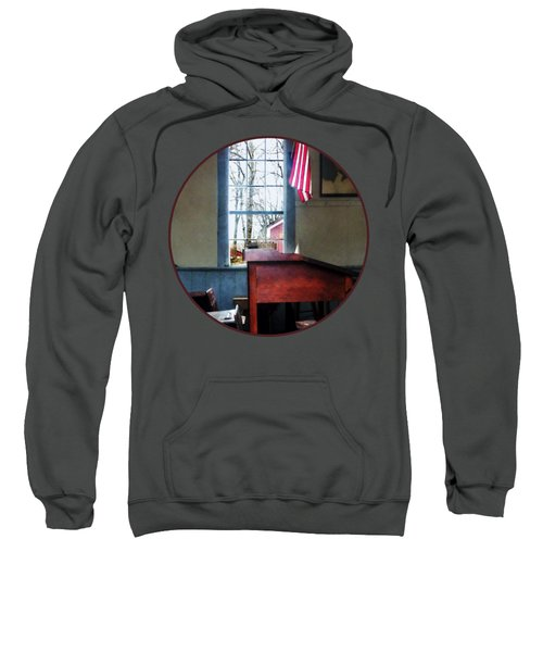 Teacher - Schoolmaster's Desk Sweatshirt