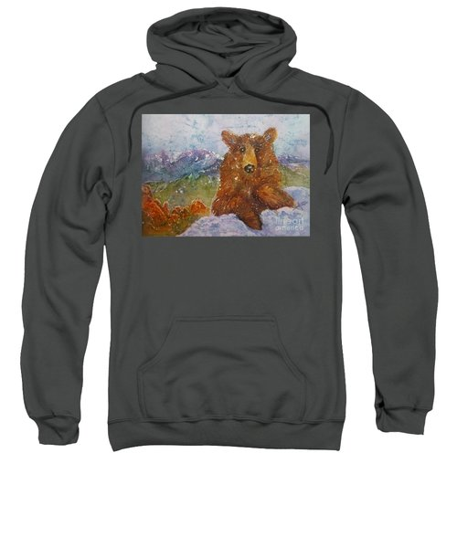 Teddy Wakes Up In The Most Desireable City In The Nation Sweatshirt
