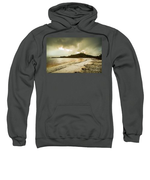 Teds Beach At Dusk Sweatshirt