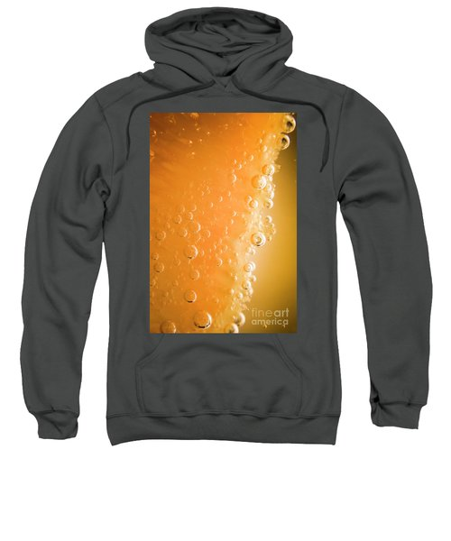 Tequila Sunrise Background Sweatshirt
