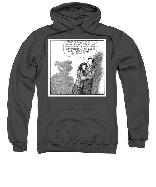 Terrifying Rage Sweatshirt