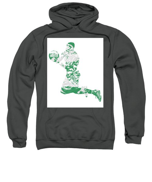 Terry Rozier Boston Celtics Pixel Art 12 Sweatshirt