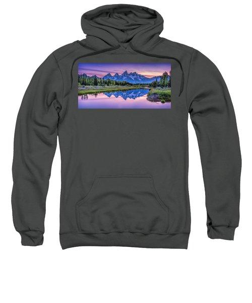 Sunset Teton Reflection Sweatshirt
