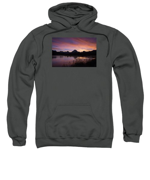Teton Sunset Sweatshirt by Gary Lengyel