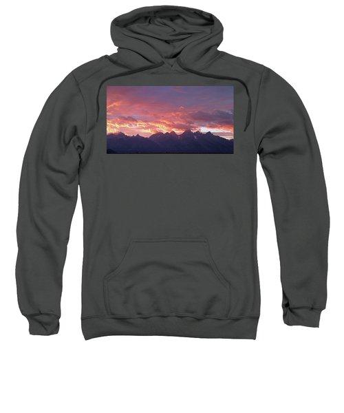 Tetons Sunset Sweatshirt