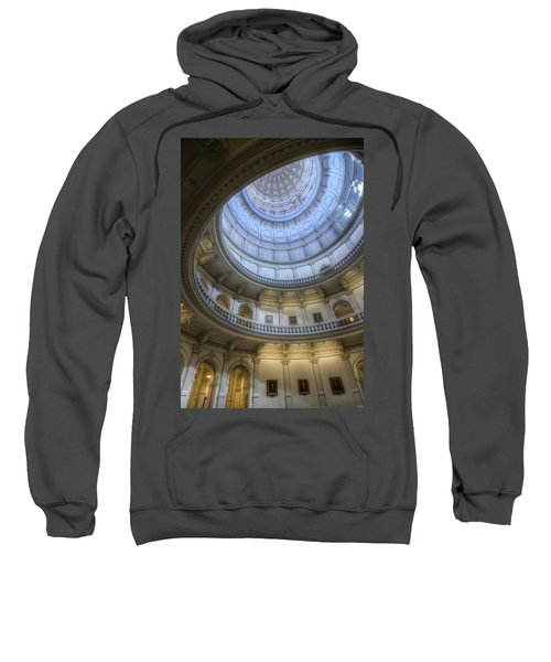 Texas Capitol Dome Interior Sweatshirt