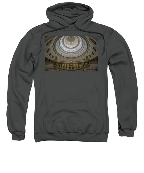 Texas Capitol Dome Wide Angle Sweatshirt