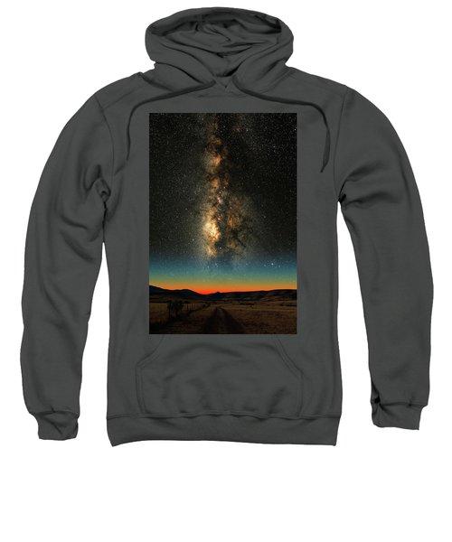 Texas Milky Way Sweatshirt