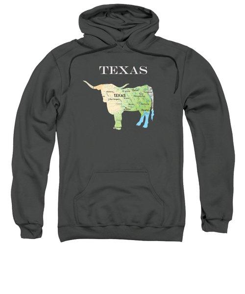 Texas Sweatshirt by Art Spectrum