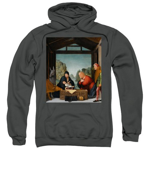 The Adoration Of The Shepherds Sweatshirt