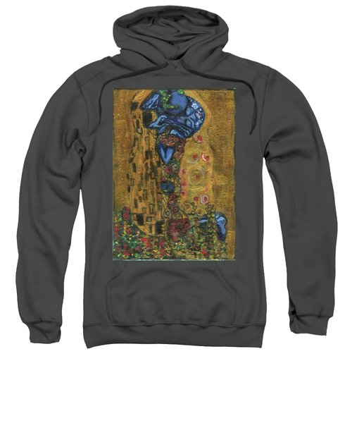 The Alien Kiss By Blastoff Klimt Sweatshirt
