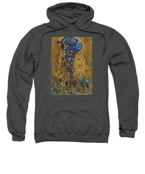 The Alien Kiss By Blastoff Klimt Sweatshirt