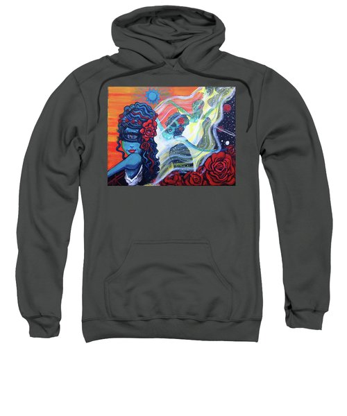 The Alien Scarlet Begonias Sweatshirt