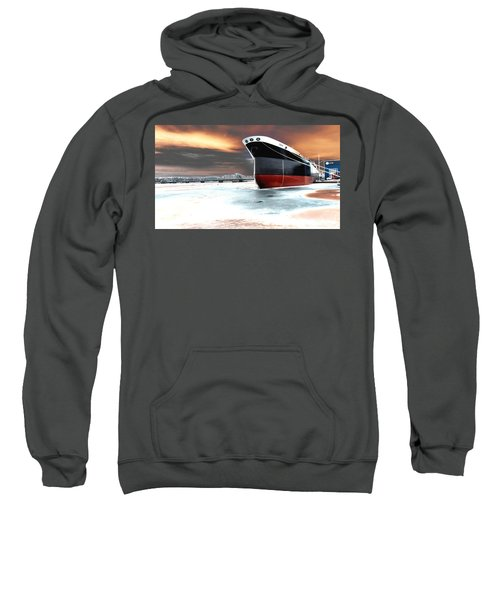 The Ship And The Steel Bridge. Sweatshirt