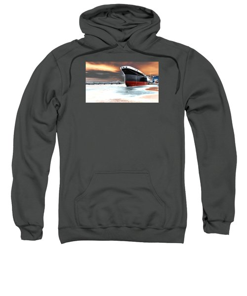 The Ship And The Steel Bridge. Sweatshirt