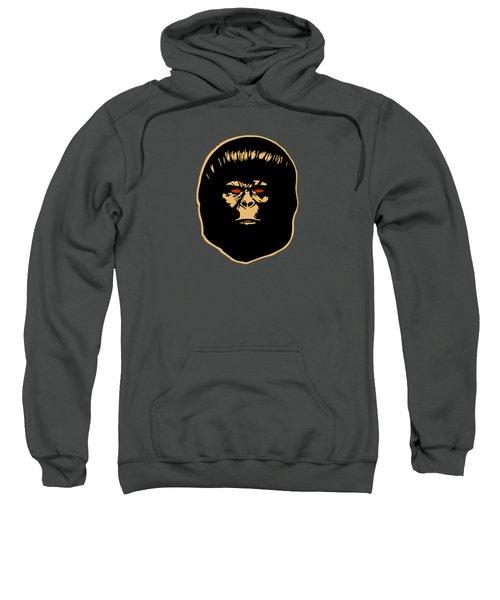 The Ape Sweatshirt by Jurgen Rivera