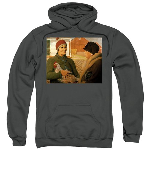 The Appraisal Sweatshirt by Celestial Images
